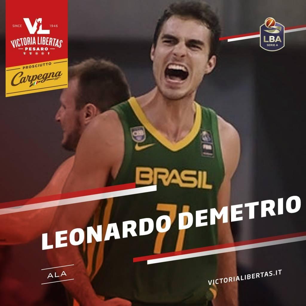 LBA UnipolSai Mercato 2021-22: a Pesaro un'ala forte ancora dal Brasile, Leonardo Demetrio ed a Varese firma il tiratore americano Elijah Wilson