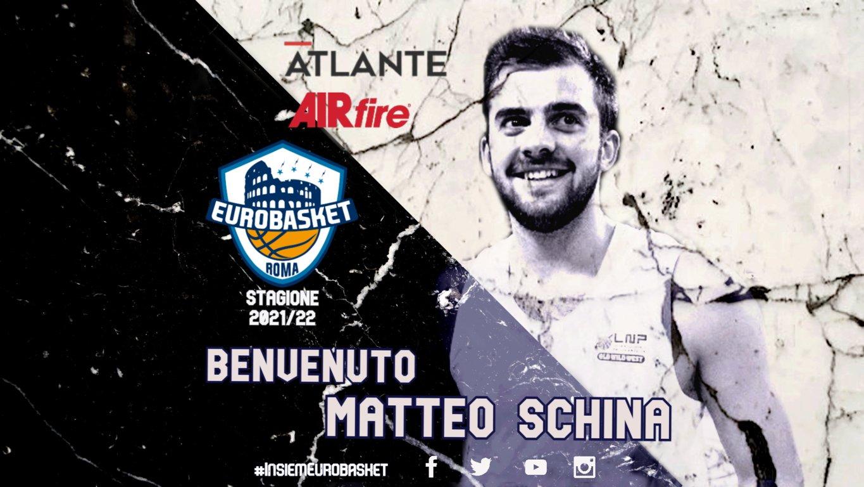 Serie A2 Mercato 2021-22: un playmaker di prospettiva il Nazionale U20M Matteo Schina all'Atlante Eurobasket Roma che spera di poter giocare al PalaEUR