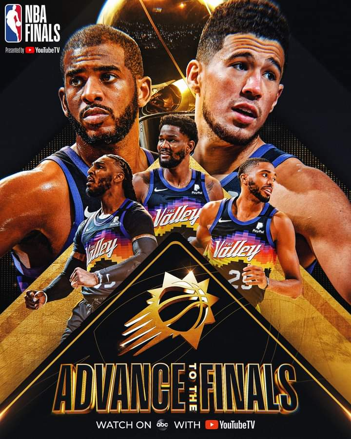 NBA Playoffs #Gara6 Finali Ovest 2021: i Phoenix Suns battono i Los Angeles Clippers e 28 anni dopo volano in Finale