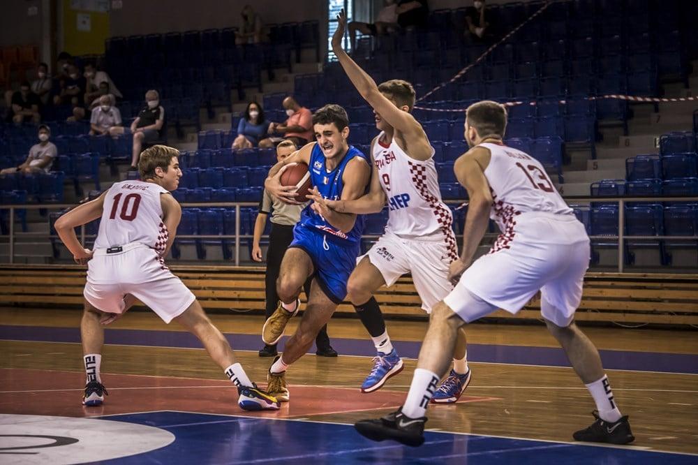 FIBA European Challenger U20M 2021: l'Italbasket U20M parte male e finisce peggio, KO vs la Croazia 71-57