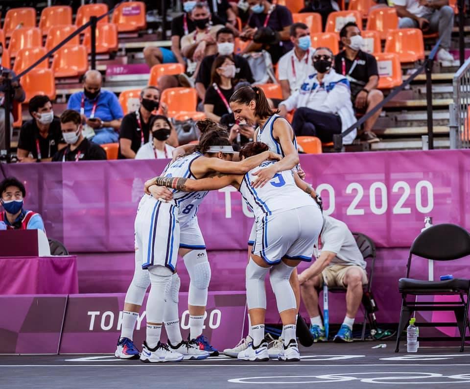 Torneo Olimpico Tokyo 2020: l'Italbasket Rosa 3×3 ancora al 50% di gare, KO vs la Cina ma OK vs la Romania