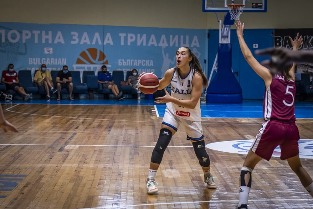 FIBA European Challenger U20F 2021: inarrestabile Italbasket Rosa U20F che batte anche la Lettonia per 56-44