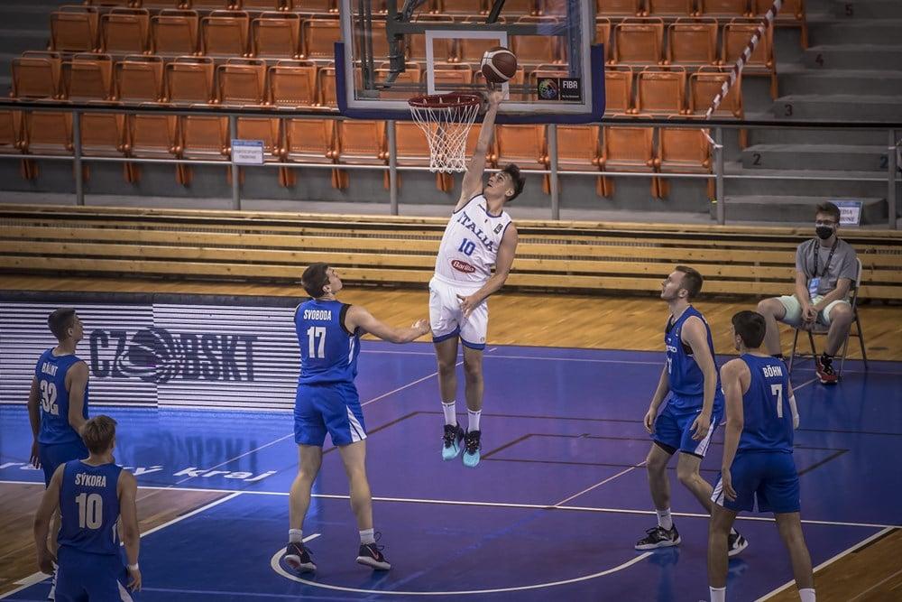 FIBA European Challenger U20M 2021: buonissimo esordio dell'Italbasket U20M che batte a domicilio la Repubblica Ceca 66-63