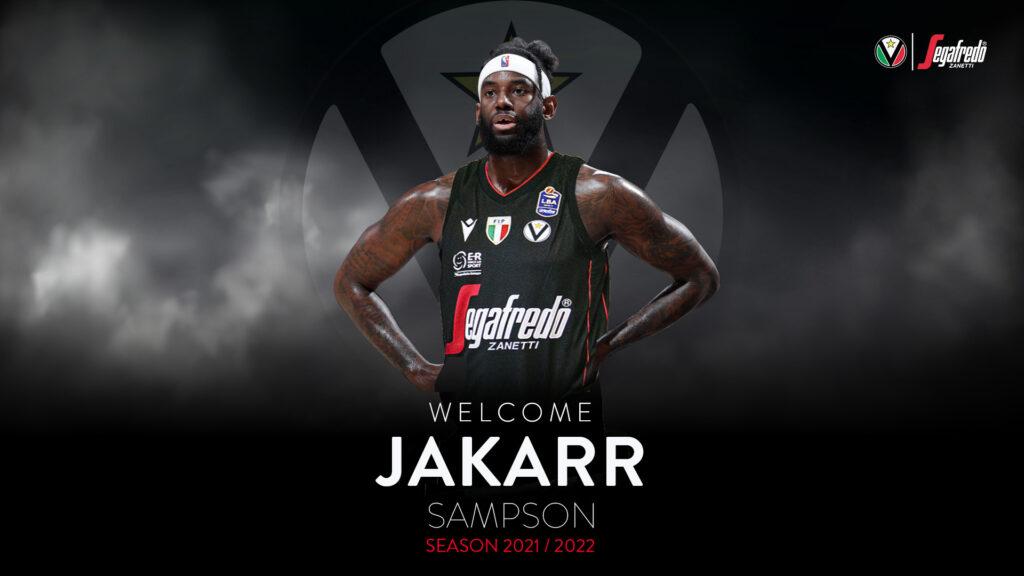 LBA UnipolSai Mercato 2021-22: è Jakarr Sampson il nuovo innesto della Virtus Segafredo Bologna