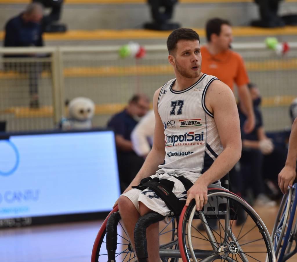Basket in carrozzina #SerieAFipic Mercato 2021-22: Luka Buksa rimane per il 2° anno consecutivo all'UnipolSai Briantea84 Cantù
