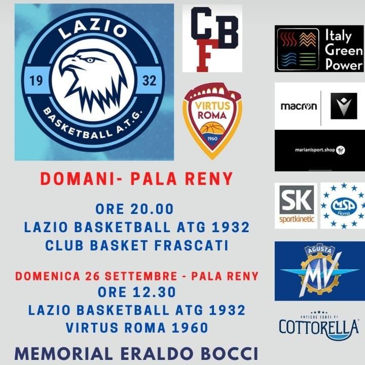 Storie di Basket 2021-22: a Roma si riaccende la sana rivalità tra Virtus Roma 1960 e Lazio Basketball ATG 1932
