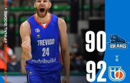 FIBA BasketballCL Qualifiers 2021-22: la NutriBullet Treviso batte anche i Bakken Bears e guadagna la finale