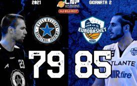 Serie A2 Supercoppa Old Wild West 2° turno 2021: il derby di Roma è dell'Atlante Eurobasket che espugna il campo della Stella Azzurra