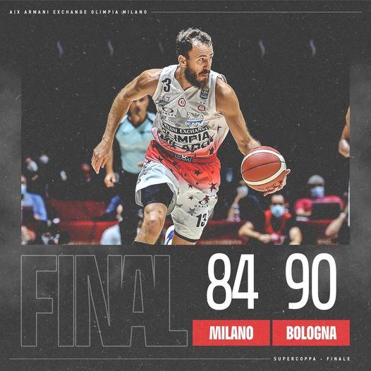 LBA Supercoppa Discovery+ #F8 2021: trionfa la Virtus Bologna, per l'Olimpia Milano un' altra delusione