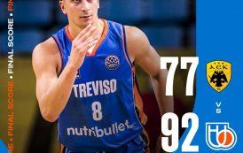 FIBA Basketball CL #Game2 2021-22: Magica NutriBullet Treviso con strepitoso Henry Sims, battuto l'Aek Atene