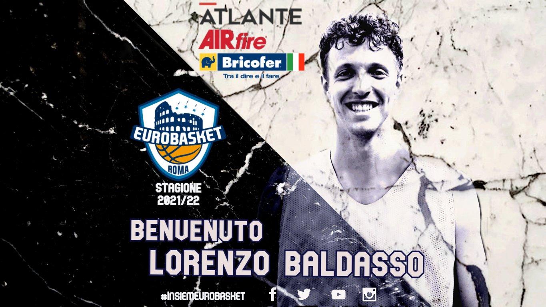 Serie A2 girone rosso Mercato 2021-22: l'Atlante Eurobasket Roma ingaggia Lorenzo Baldasso per tappare la falla nel roster