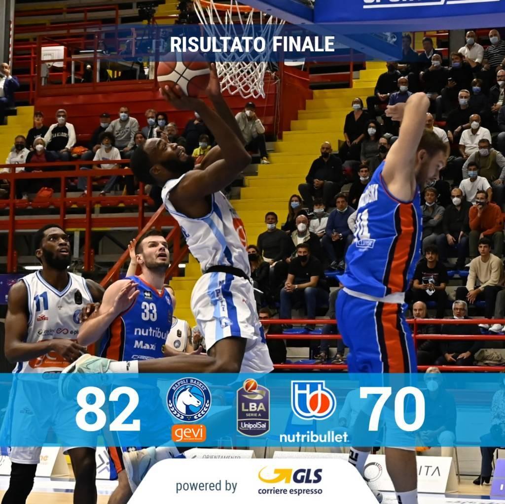 LBA UnipolSai 3^ andata 2021-22: al PalaBarbuto c'è il Bortolani's Show ma non basta a Treviso, il Napoli Basket festeggia