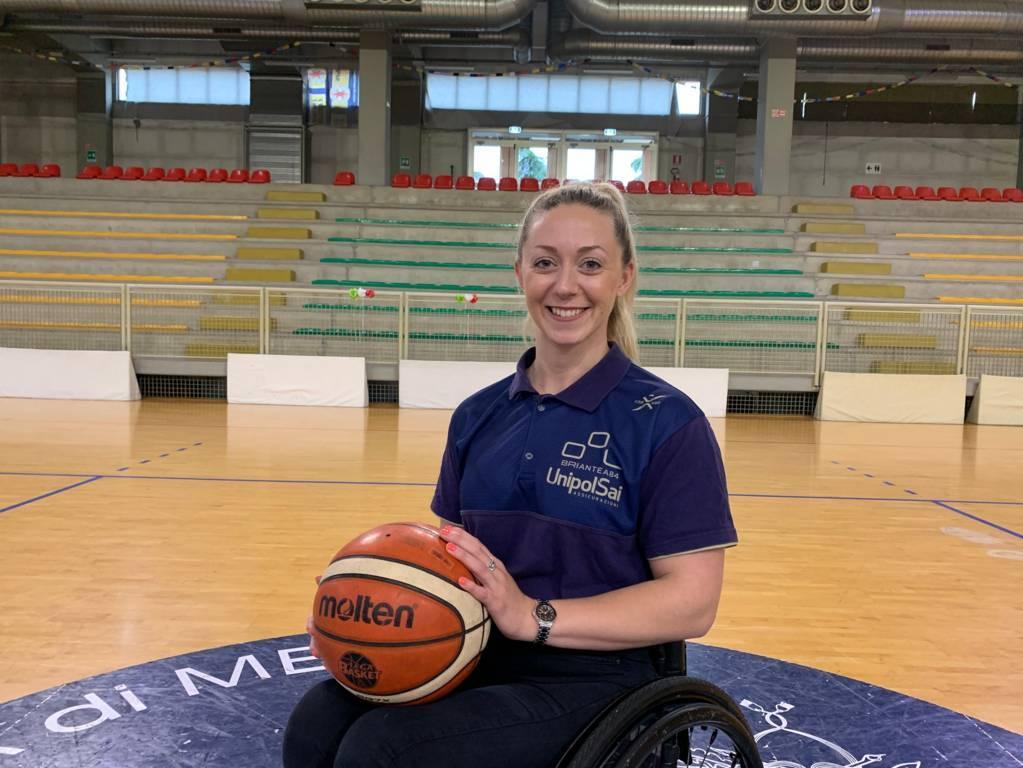 Basket in carrozzina #SerieAFipic Mercato 2021-22: secondo, nuovo acquisto dell'UnipolSai Briantea84 Cantù che ingaggia classe e sorriso di Sophie Carrigill