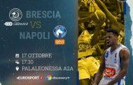 LBA UnipolSai preview 4^ andata 2021-22: Germani Brescia - Gevi Napoli, Atto III. Sarà ancora un colpaccio degli ospiti?