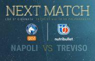 LBA UnipolSai preview 3^ andata 2021-22: Il GeVi Napoli Basket vuole vincere la prima gara in casa ma la NutriBullet Treviso è lanciatissima