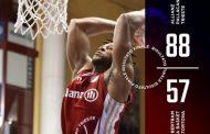 LBA UnipolSai 5^ andata 2021-22: l'Allianz Trieste demolisce la Bertram Derthona in una partita senza storia